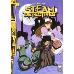 STEAM DETECTIVES Nº 2