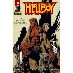 HELLBOY 14: EL HOMBRE RETORCIDO