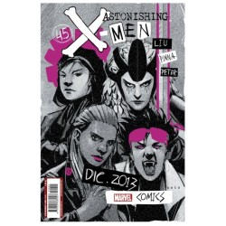 ASTONISHING X-MEN VOL.3 Nº 45