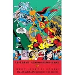 GRANDES AUTORES DE SUPERMAN: SUPERMAN Y LOS MEJORES SUPERHÉROES DEL MUNDO