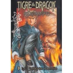 TIGRE Y DRAGON Nº 3 LOS 3 SANTOS Y LOS 4 DEMONIOS