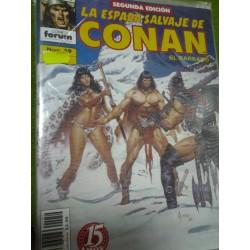 LA ESPADA SALVAJE DE CONAN Nº 59 SEGUNDA EDICIÓN
