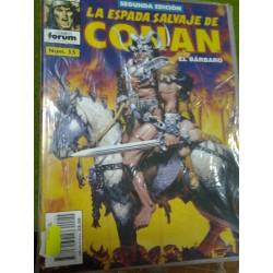 LA ESPADA SALVAJE DE CONAN Nº 55 SEGUNDA EDICIÓN