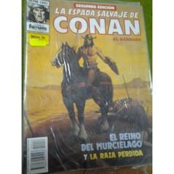 LA ESPADA SALVAJE DE CONAN Nº 16 SEGUNDA EDICIÓN