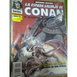 LA ESPADA SALVAJE DE CONAN Nº 14 SEGUNDA EDICIÓN