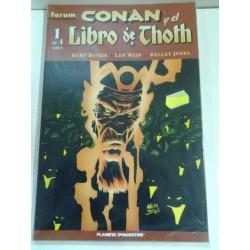 CONAN Y EL LIBRO DE THOTH (COMPLETA) 4 NÚMEROS