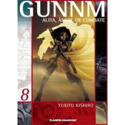 GUNNM: ALITA, ÁNGEL DE COMBATE Nº 8