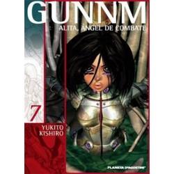 GUNNM: ALITA, ÁNGEL DE COMBATE Nº 7