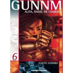GUNNM: ALITA, ÁNGEL DE COMBATE Nº 6