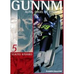 GUNNM: ALITA, ÁNGEL DE COMBATE Nº 5