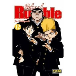 SCHOOL RUMBLE Nº 12
