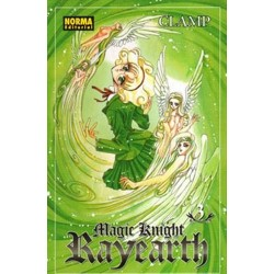 MAGIC KNIGHT RAYEARTH Nº 3