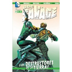 DOC SAVAGE: LOS DESTRUCTORES DE LA TIERRA
