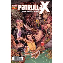 LOBEZNO Y LA PATRULLA-X Nº 4