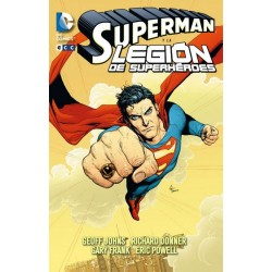 SUPERMAN DE GEOFF JOHNS Nº 3 Y LA LEGIÓN DE SUPERHÉROES