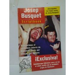 JOSEP BUSQUET: SCRIPTBOOK