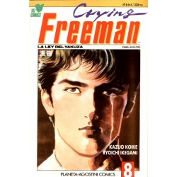 CRYING FREEMAN Nº 8