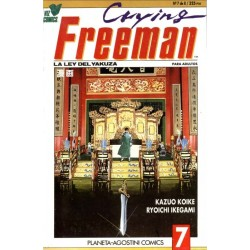 CRYING FREEMAN Nº 7