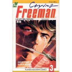 CRYING FREEMAN Nº 3