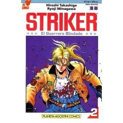 STRIKER, EL GUERRERO BLINDADO Nº 2
