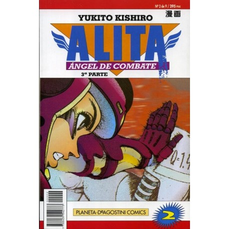 ALITA, ÁNGEL DE COMBATE 3ª PARTE Nº 2