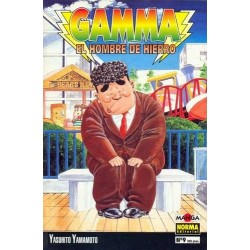 GAMMA, EL HOMBRE DE HIERRO Nº 9