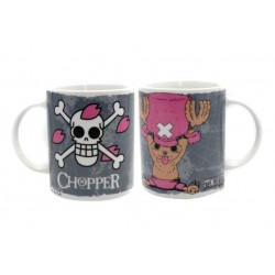 ONE PIECE CHOPPER + EMBLEMA TAZA