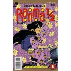 RANMA 1/2 4ª PARTE Nº 5
