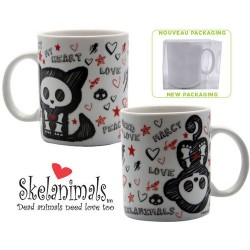 SKELANIMALS KIT Y MARCY TAZA