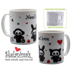 SKELANIMALS NEED LOVE TAZA