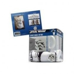 STAR WARS TROOPERS GIFT BOX-TAZA, CAMISETA XL Y CHAPA