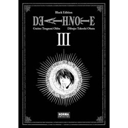 DEATH NOTE Nº 3 (BLACK EDITION)