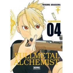 FULLMETAL ALCHEMIST KANZENBAN Nº 4