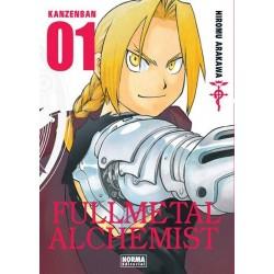 FULLMETAL ALCHEMIST KANZENBAN Nº 1