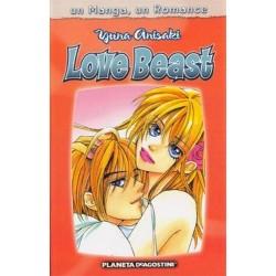 UN MANGA, UN ROMANCE Nº 4 LOVE BEAST