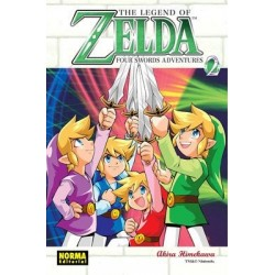 ZELDA Nº 9 FOUR SWORDS ADVENTURES