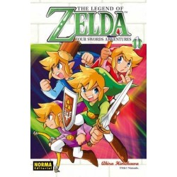 ZELDA Nº 8 FOUR SWORDS ADVENTURES 1