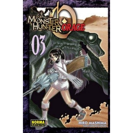 MONSTER HUNTER ORAGE Nº 3