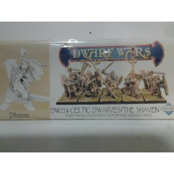 DWARF WARS: CELTIC DWARVES/THE SHAVEN