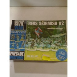 AMERICAN CIVIL WAR REBS SKIRMISH 2