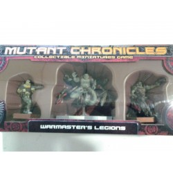 MUTANT CHRONICLES: WARMASTER´S LEGIONS