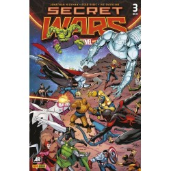 SECRET WARS Nº 3