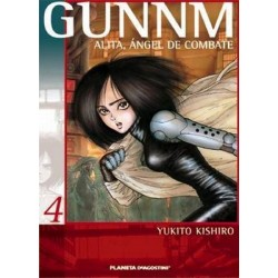 GUNNM: ALITA, ÁNGEL DE COMBATE Nº 4