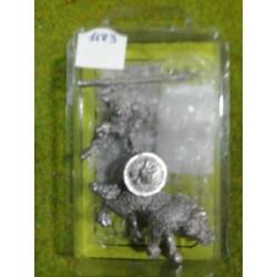 GOBLIN WOLF RIDER 2 WITH SPEAR (LANZA)