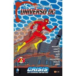 CONVERGENCIA: EL UNIVERSO DC CONVERGE EN CRISIS EN TIERRAS INFINITAS