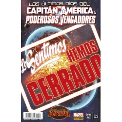 PODEROSOS VENGADORES VOL.2 Nº 22 SECRET WARS