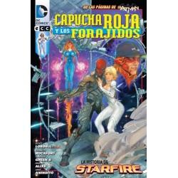 CAPUCHA ROJA Y LOS FORAJIDOS Nº 2 LA HISTORIA DE STARFIRE