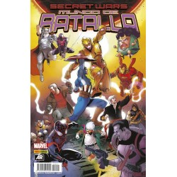 SECRET WARS: MUNDO DE BATALLA Nº 1