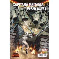 SECRET WARS: CAPITANA BRITANIA Y LOS DEFENSORES Nº 2
