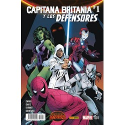 SECRET WARS: CAPITANA BRITANIA Y LOS DEFENSORES Nº 1